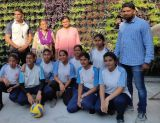 Volley Ball at zonal level 27-Aug-19